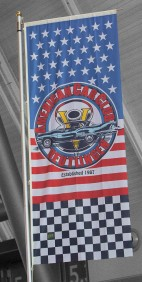 Flagge des ACC American Car Club Reutlingen e.V.