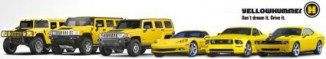 Yellow-Hummer US-Car Vermietung